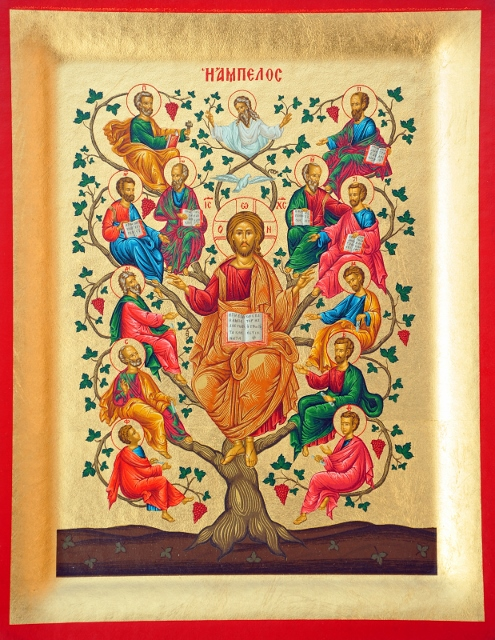 0-Jesus Vine Tree GC27 Icon