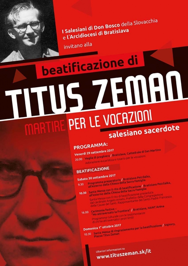 Titus Zeman-beatification poster