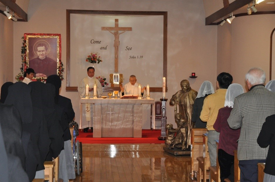 GIA-Kamezawa-Mass celebration 2011